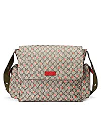 Gucci diaper bag luxury baby wish list item.