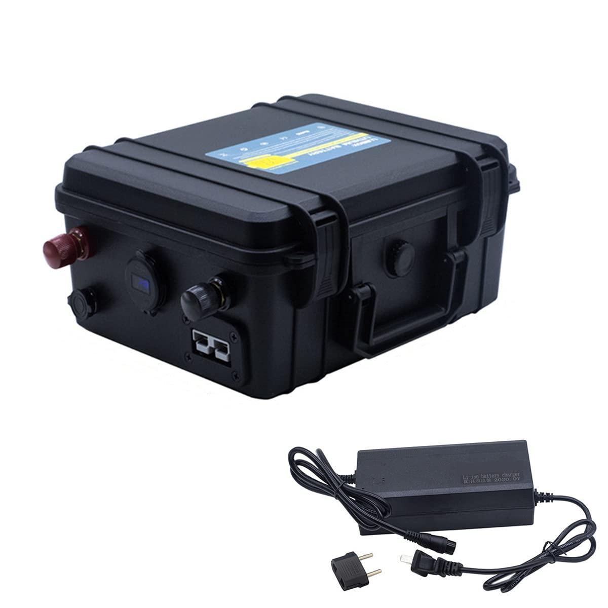 24V 80AH 100AH 150AH Lifepo4 paquete de baterías a prueba de agua 24V de iones de litio para el sistema solar/Motor Home/Barco/Carros de golf batería del coche (24V 100AH)