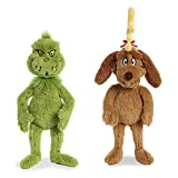 Aurora World Plush - Dr. Seuss - Max 18in with Dr. Seuss - Grinch 18in