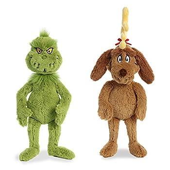 the grinch stuffed animal