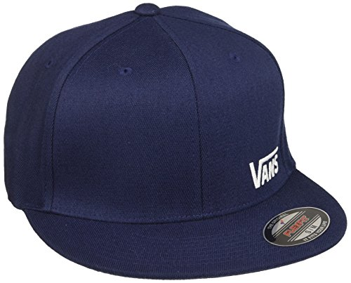 Vans Splitz Gorra de béisbol, Azul (Dress Blues-White 5s2), Medium para Hombre