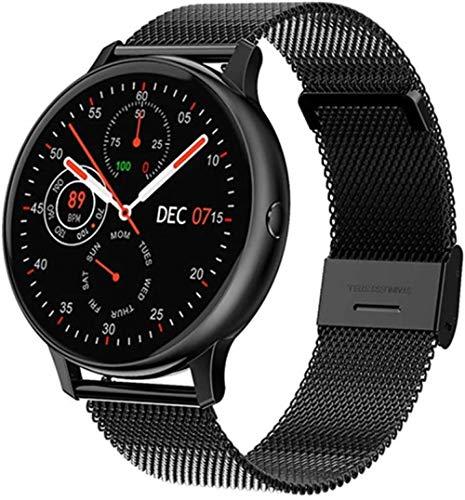 SHIJIAN Relojes inteligentes para hombre y mujer, detectores multifunción, deportes al aire libre, pulseras de seguimiento de fitness, relojes de regalo-A