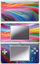Mightyskins Protective Vinyl Skin Decal Cover Sticker Compatible with Nintendo DS Lite - Rainbow Wave