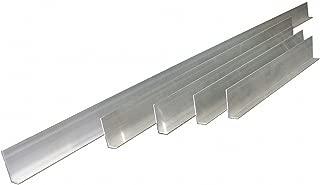 Screed Set, L-Shaped, Aluminum, PK5