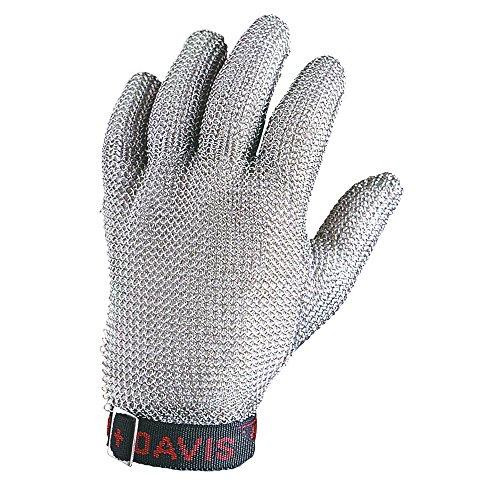 Honeywell Whiting + Davis 5-Finger Metal Mesh Cut-Resistant Gloves, Small (RWS-57007)