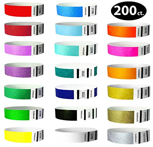 paper wristbands variety pack - 4
