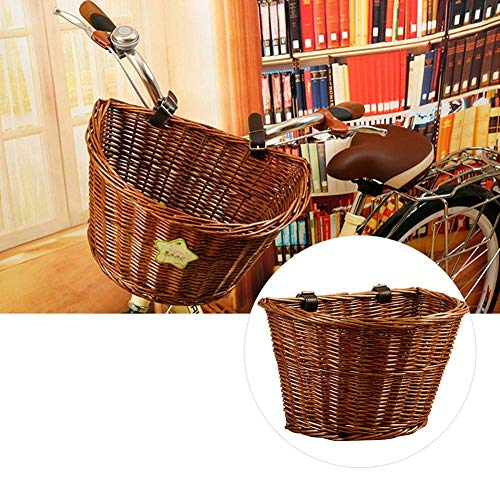 wicker basket for bicycle - 7