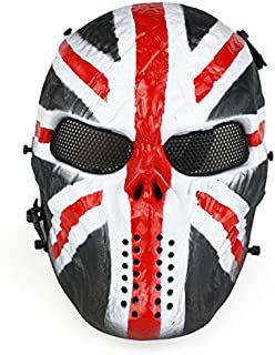 A&N Airsoft Full Face Protection Skull Masks in Different Designs