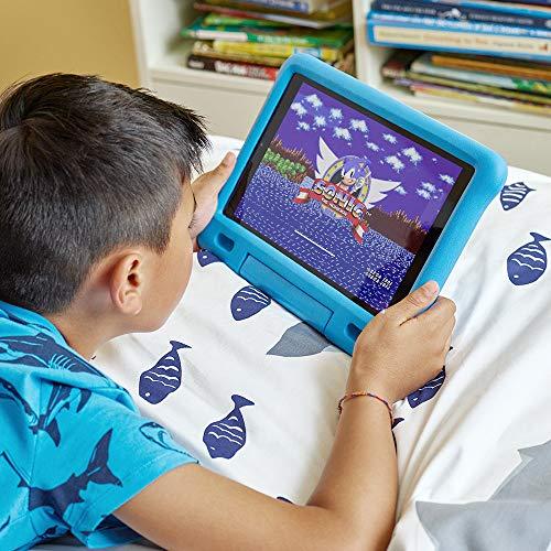 "Fire HD 10 Kids Tablet – 10.1"" 1080p full HD display, 32 GB, Blue Kid-Proof Case (2019 Release)"