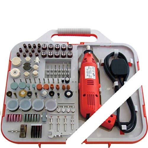 New 162PC 130W Electric Mini Drill and BIT Set HOBBYIST Jewellery Craft Rotary
