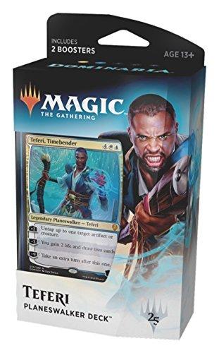Magic The Gathering MTG - Dominaria 1 Planeswalker Deck At Random - Espanol Spanish