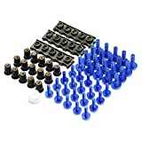 Nouveaux matériaux Accessoires Moto Carénage Vis Boulon Vis for Pare-Brise Suzuki GSXR 600/750 GSXR 600/750 1000 K1 K2 K3 K4 K5 K6 K8 K9 K7 (Color : Blue)