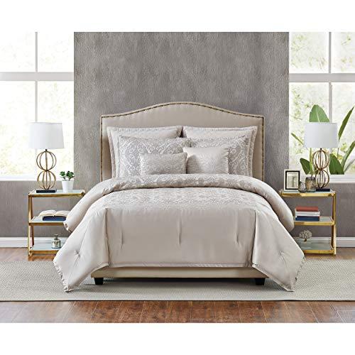 5th Avenue Lux Riverton Luxury 7 Piece Comforter Set, King