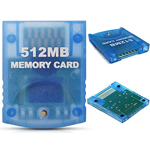 512MB Gaming Memory Card Compatible Nintendo Wii Consoles Gamecube Game Cube NGC GC