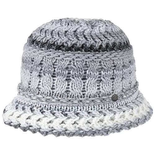 Lierys Alesund Gebreide Dameshoed Dames - Made in Germany klokvormige hoeden winter voor Herfst/Winter - One Size grijs