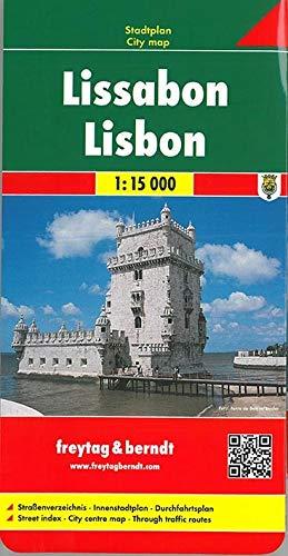 Freytag Berndt Stadtpläne, Lissabon: City Map (Freytag u. Berndt Stadtpläne/Autokarten). 1:15 000.: Straßenverzeichnis, Innenstadtplan, Umgebungsplan