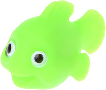 Xuniu 3D Goldfish LED Light Kids Juguetes, Sensor de Agua Baño de baño Bañera Flotante