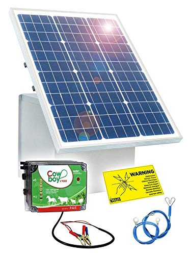 Eider 50 W Solar Box und 12 V Weidezaungerät V 9000 Paket 1 W