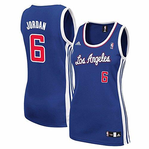 adidas Deandre Jordan Los Angeles Clippers NBA Women's Blue Replica Jersey (S)