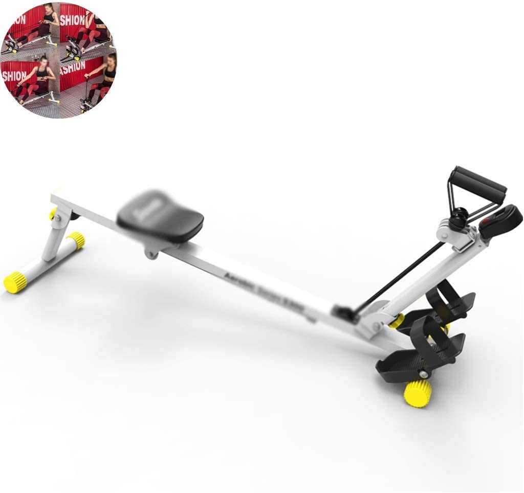 XBSLJ Special sale item Foldable Max 88% OFF Rowing Machine Ma Machines
