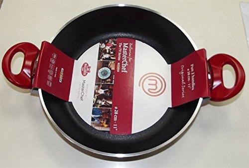 Ballarini Tegame 2 maniglie Antiaderente linea Masterchef original series dimensione: 28 cm cod.933D-0.28