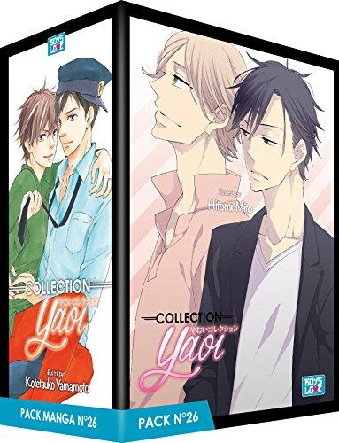Pack Boy's Love - Partie 26 - 5 Mangas (Livres) - Yaoi