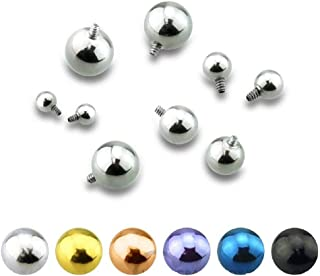 Golden Cross Gold Plated Steel Freedom Fashion Curved Barbell Eyebrow Ring Sold by Piece