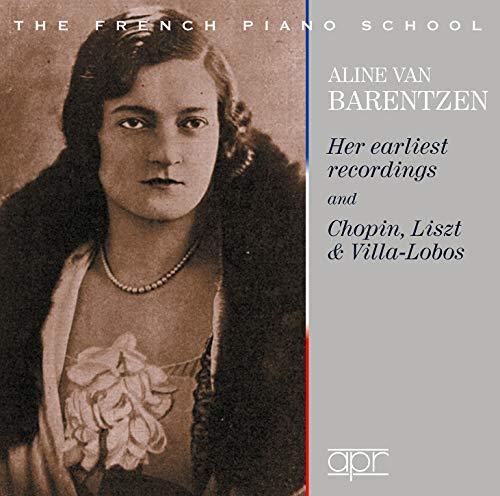 L'école française du piano, vol. 5 : Aline van Barentzen.