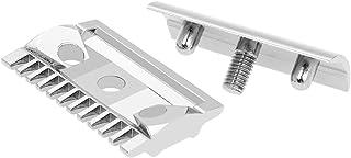 Nishore Double Edge Shaving Safety Razor Open Comb Head Men Safety Razor Head Shaving Tool