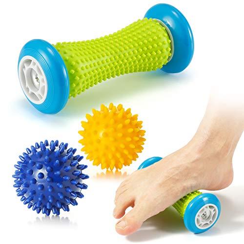 Fußmassage Igelball roller massageball für Plantarfasziitis - Muskel Roller & Fußmassage Balls
