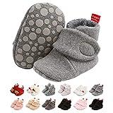 EDOTON Botas de Niño, Zapatos para bebés Lindo Invierno Calcetín Invierno Soft Sole Crib Raya de Caliente Boots de Algodón para Bebés 0-18 Meses