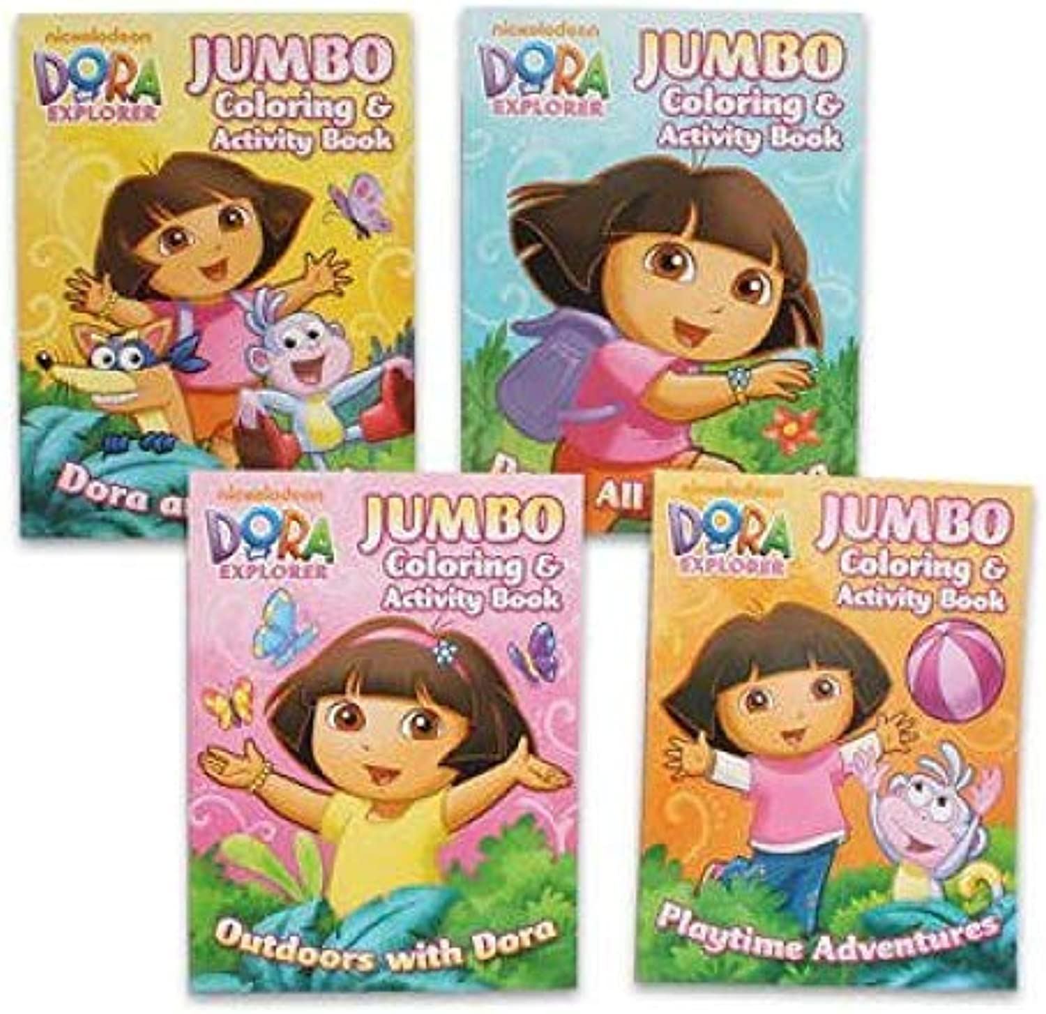1 piece of Dora the Explorer 4 96p coloring & Activity Book by Nickelodeon