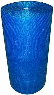 Realpack - Rollo de papel de burbujas (750 mm x 100 m), color azul