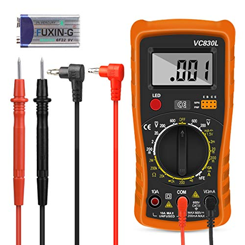 Nakeey - Multimetro digitale, voltmetro, multimetro AC/DC