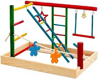 Birdie Play Gym Centre Bird Toy, Medium