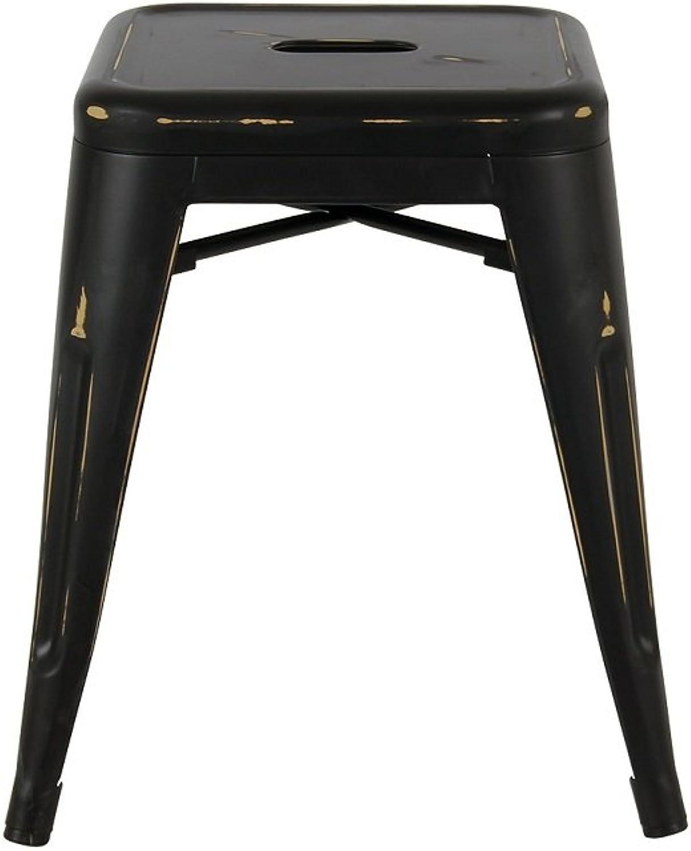 Take Me Home Furniture Barstool Mini Tolix Antique Black, bar Stool, barfurniture