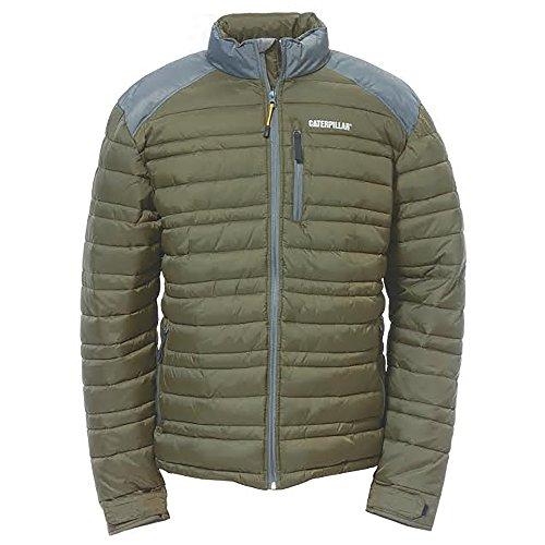 Caterpillar Defender Insulated Jacket Moss Size UK EU Sml