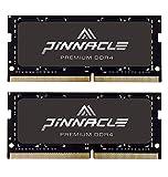Timetec Pinnacle Hynix IC 32GB KIT(2x16GB) DDR4 2666MHz PC4-21300 Unbuffered Non-ECC 1.2V CL19 2Rx8 Dual Rank 260 Pin SODIMM Laptop RAM Upgrade Heat Sink (32GB KIT(2x16GB))