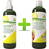 Natural Pet Supplies Grooming Kit for Cats + Dogs - Pet...