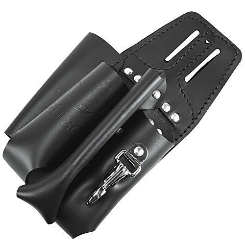 Tool Pouch, 4 Pocket Multi Tool Holder with Plier Holder, Ruler Holder, Screwdriver Holder Klein Tools 5118C