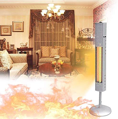 VULID Tischplatte mit Tischheizung, Stand-Up-Terrassenheizung, IP65 wasserdicht, sofort warm, geringer Verbrauch, kein Geräusch, Winkel einstellbar Indoor Außenwärmer
