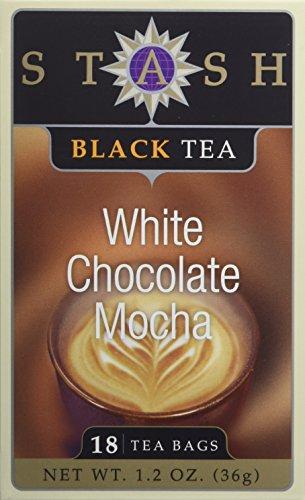White Chocolate Mocha Black Tea Stash Tea 18 Bag