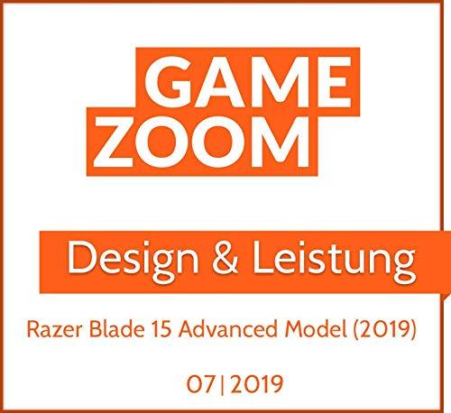 Razer Blade 15 Advanced Model 2019 39,6 cm 15,6 Zoll 144 Hz Full HD Bild 6*