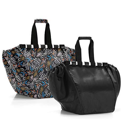 Reisenthel Easyshoppingbag 2 piezas Leewadee - Bolsa de la compra, color negro