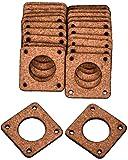 RIMEI Accessori per stampanti 1 / 5PCS Motore Passo-Passo per Stampante 3D Demper 3mm di Spessore Guarnizione in Sughero Smorzatore 42 Motore Passo-Passo Smorzatore/Isolatore Durevole in Uso.