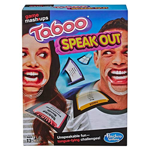 Game Mashups Taboo Speak Out Game (Age: 13 Years and Up)