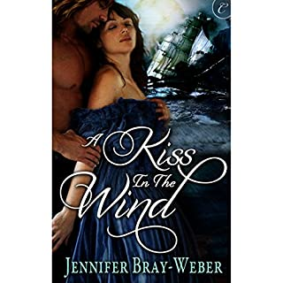 A Kiss in the Wind audiobook cover art