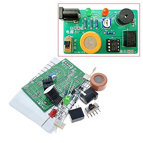 Bin Zhang Elektronisches DIY-Kit MQ-3 Sensor Alkoholdetektor Tester Alarmanlage Komponenten Suite