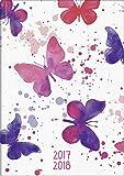 Brunnen 1072982048 Schülerkalender Schmetterling (1 Woche in 2 Seiten, August 2017 bis Juli 2018)