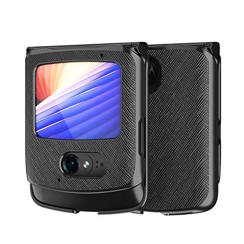 Hülle für Motorola razr 5G,PU Leder & PC Handyhülle Rückseite für Motorola razr 5G,Muster 2
